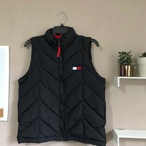 Vintage Tommy Hilfiger Down Puffer Vest Black